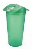 กระบอกน้ำพลาสติก - 523 H เขียว 18 ออน
