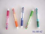 ปากกาพลาสติก 4 ไส้